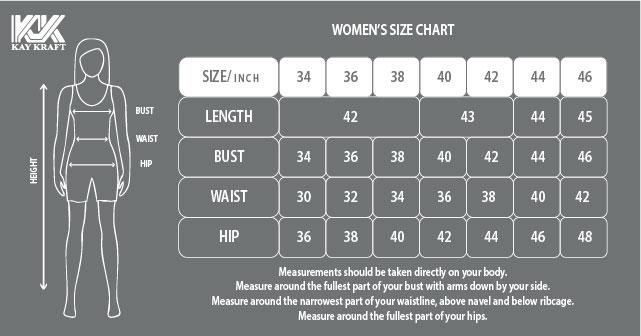 KK-Women's size chart